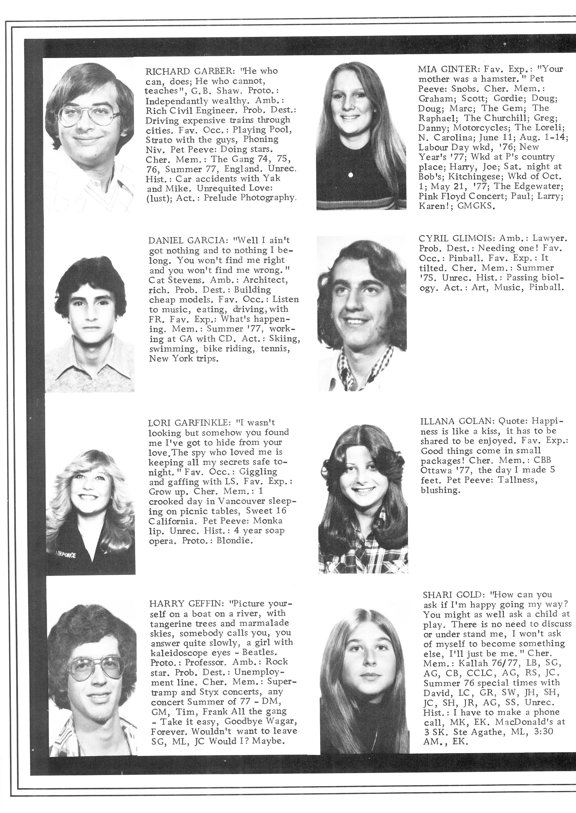 1978 Wagar High School Prelude Yearbooks Page 24