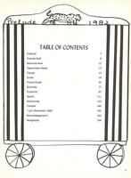 1982 Tables of Contents